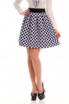 Fusta Fofy Dotty Allure DarkBlue