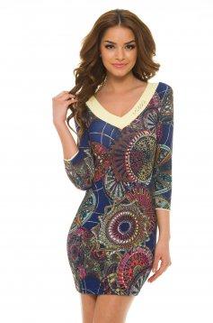 MissQ Epic Circle DarkBlue Dress
