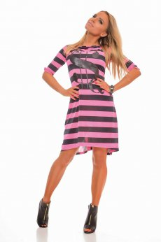 Rochie MissQ Young Lines Pink