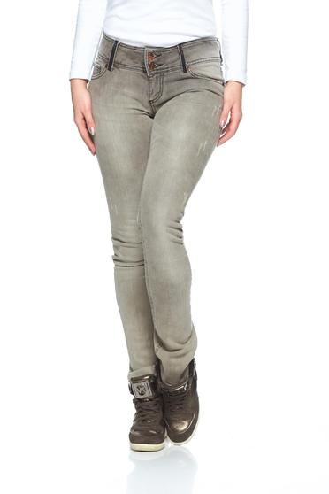 MissQ Simple Touch Brown Jeans
