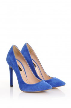 Pantofi Mineli Boutique Magnetic Blue