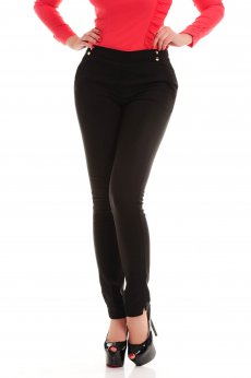 Pantaloni Fofy Office Choice Black