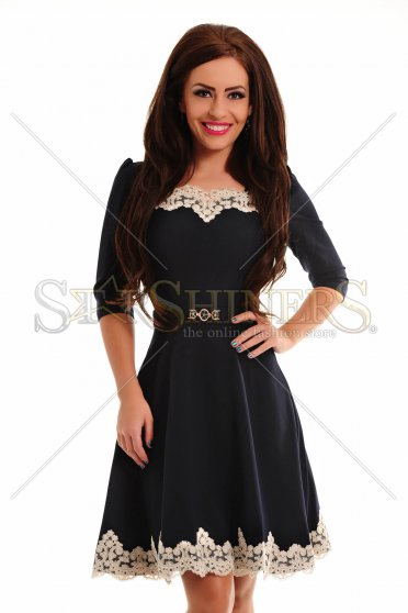 Rochie LaDonna Lovely Embroidery DarkBlue