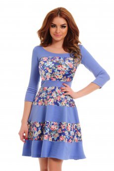 StarShinerS Bohemian Blue Dress