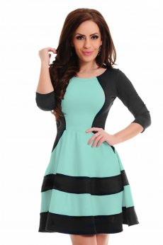 Rochie StarShinerS Magnified Mint