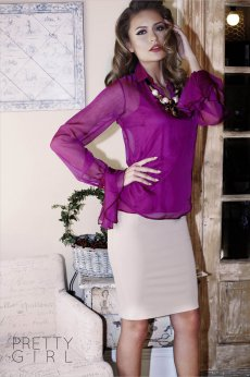 Bluza PrettyGirl Resolute Purple