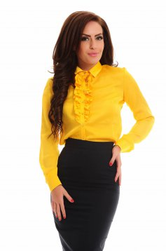 Camasa PrettyGirl Gallantly Yellow