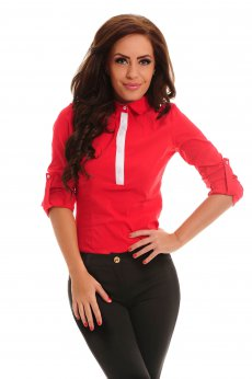 Camasa PrettyGirl Peppy Red