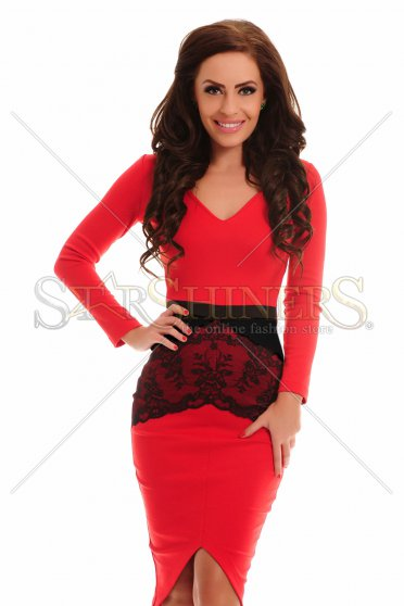Rochie StarShinerS Tenderness Red