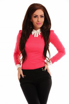 Fofy Spotty Allure Coral Shirt