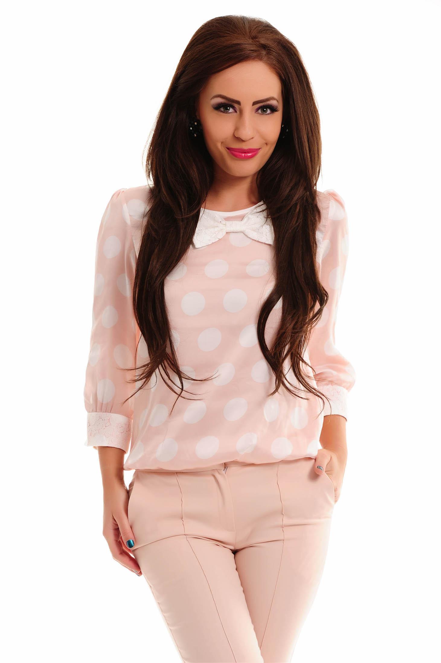 Bluza LaDonna Cute Dots Rosa
