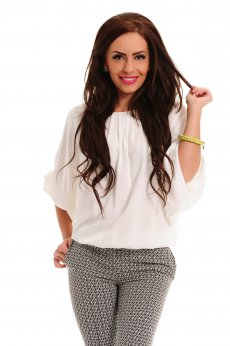 Bluza Simple Touch White