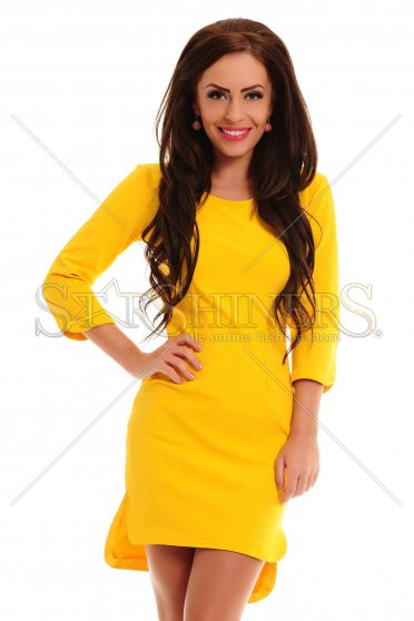 Rochie PrettyGirl Hot Pick Yellow