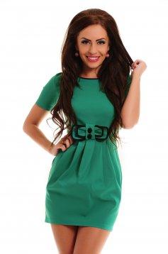 Artista Hidden Bow Green Dress