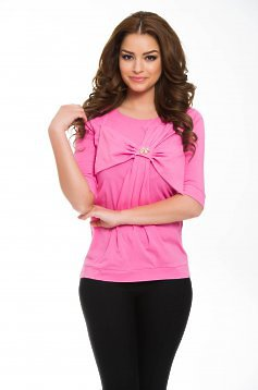 Artista Middle Ribbon Pink Blouse