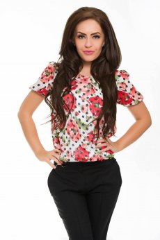 Bluza LaDonna Brave Flowers Red