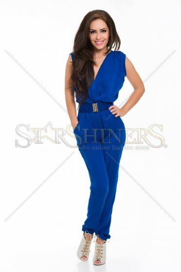 PrettyGirl Reasonable DarkBlue Jumpsuit