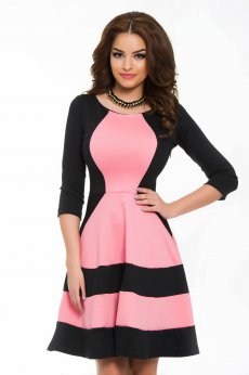 Rochie StarShinerS Magnified Pink
