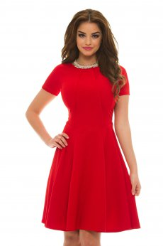 Rochie Artista Flared Girl Red