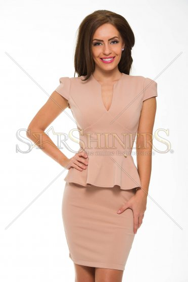 Rochie PrettyGirl Celebration Brown