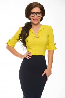 Camasa Fofy Lovely Touch Yellow