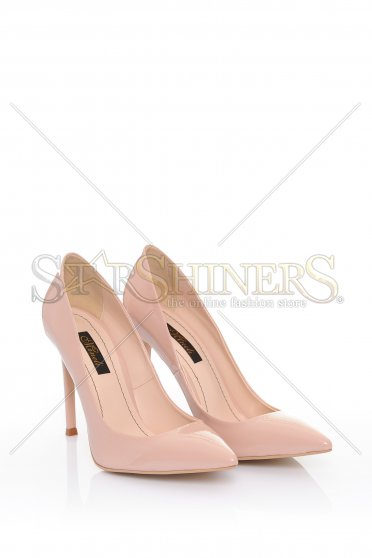 Pantofi Mineli Boutique Perfectly Cream