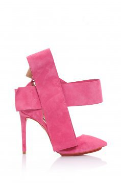 Mineli Boutique Magical Pink Leather Shoes