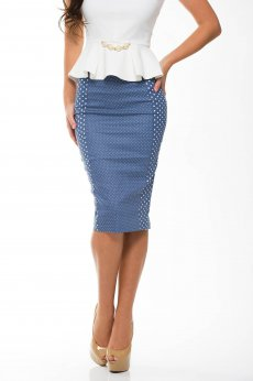 StarShinerS Overstate Blue Skirt