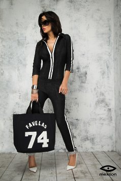 Mexton Sporty Choice DarkGrey Jumpsuit