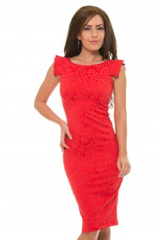 Rochie StarShinerS Perceive Red