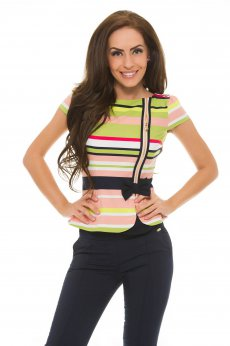 Bluza Fofy Sublime Love Green