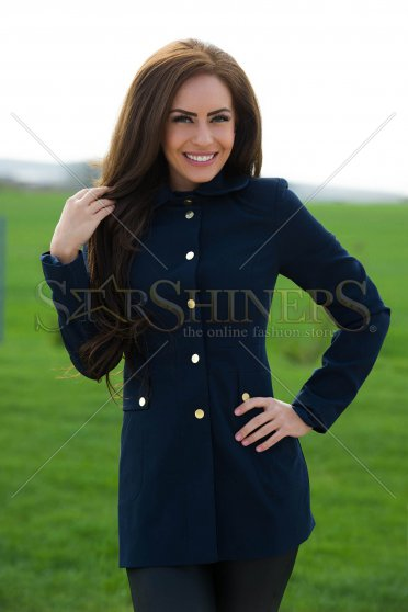 Trench LaDonna Effective Trend DarkBlue