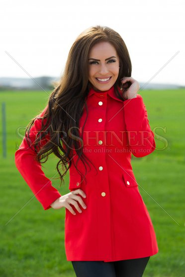 Trench LaDonna Effective Trend Red