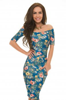 StarShinerS Fatale DarkBlue Dress