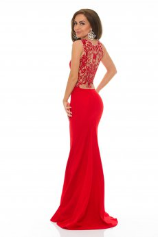 LaDonna Hypnotic Time Red Dress