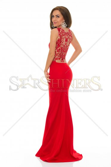 Rochie LaDonna Hypnotic Time Red