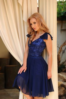 LaDonna Wisely Shape DarkBlue Dress