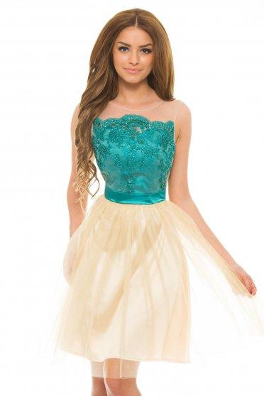 Rochie LaDonna Glittery Desire Green
