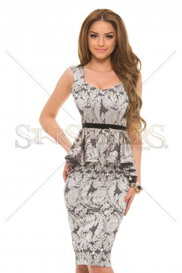 Rochie StarShinerS Sumptuous Silver