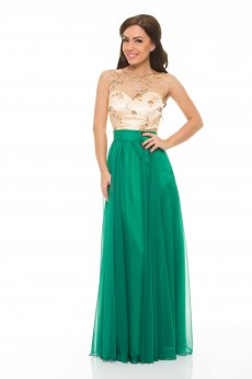 LaDonna Elegance Shades Green Dress