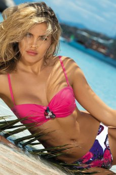 Costum De Baie Heated Eden Pink