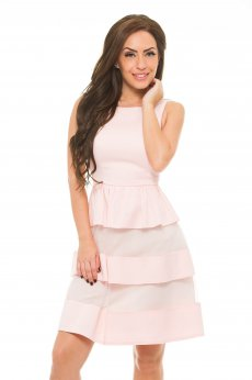 Sublime Chastity Peach Dress