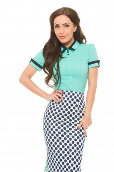 Fofy Catchy Escape Green Shirt