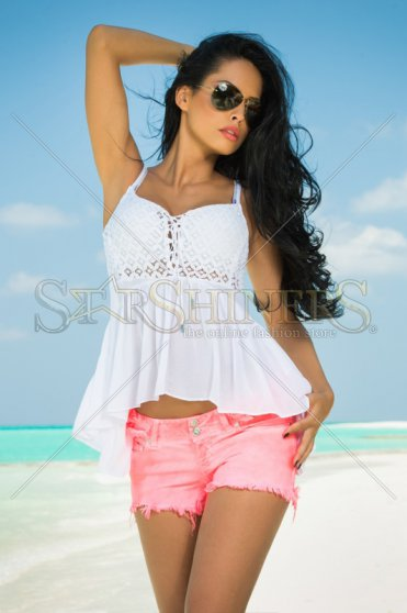 Top Mexton Dreamy Affair White