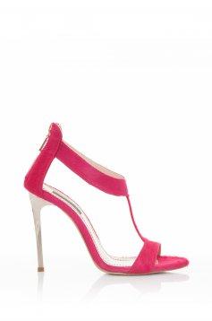 Mineli Boutique Sensational Pink Leather Sandals