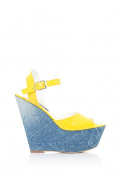 Mexton Deadly Walk Yellow Sandals