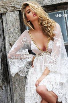 Sherri Hill 32260 White Dress
