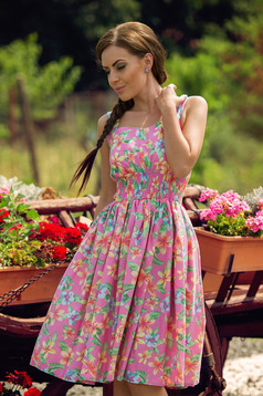 PrettyGirl Heat Pink Dress