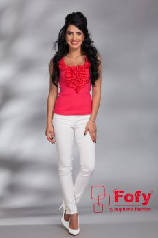 Fofy Lovely Comfort Coral Top Shirt