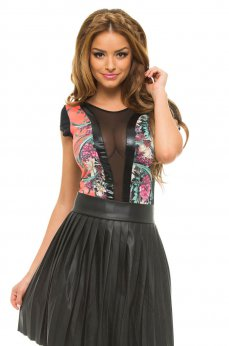 Body MissQ Floral Explosion Black